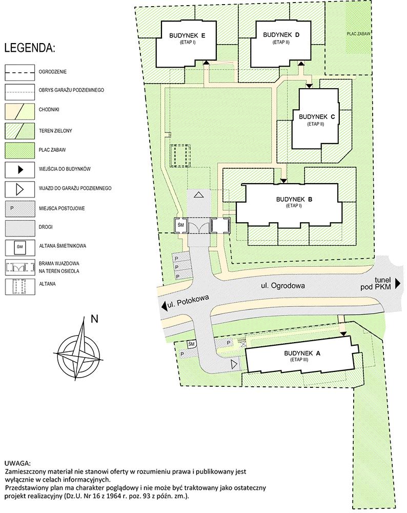 Hortus Ogrodowa plan zagospodarowania