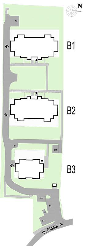 Plan zagospodarowania Wilga Park