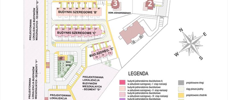mapa Osiedle Gdańskie Pępowo Margo Deweloper