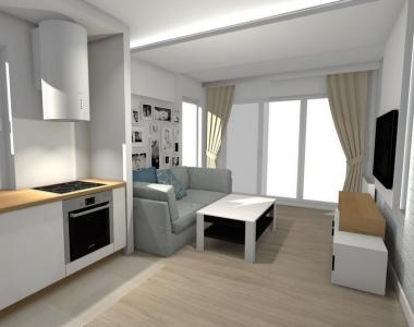 Przykładowa aranżacja mieszkania A.0.1
