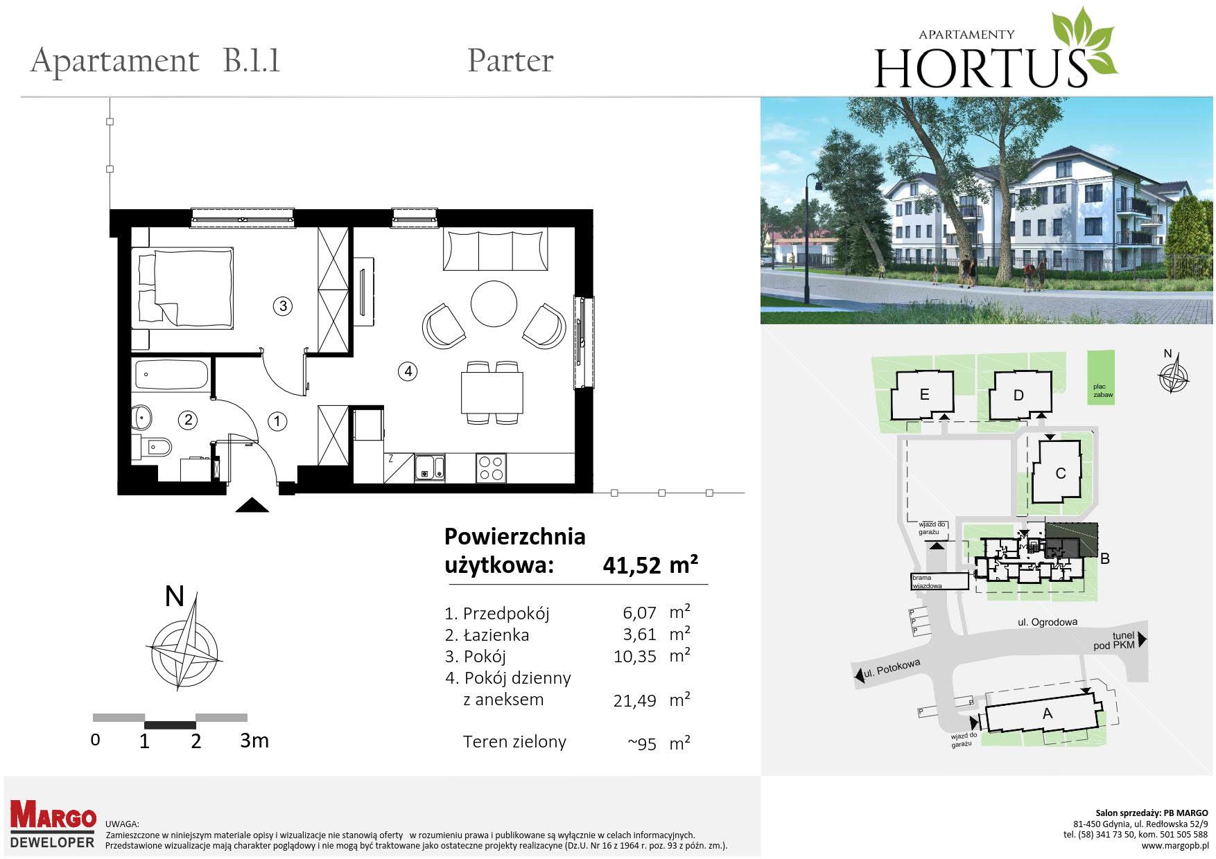 hortus mieszkanie b.1.1