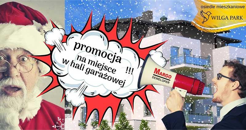 Promocja na miejsce postojowe na Osiedlu Wilga Park