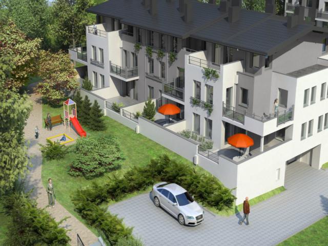 Wizualizacja Osiedla mieszkaniowego Wilga Park w Gdańsku