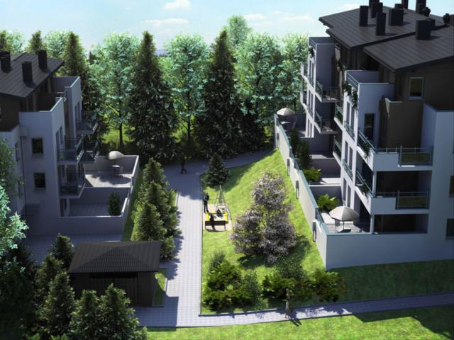 Wilga Park - Wizualizacja Osiedla mieszkaniowego w Gdańsku